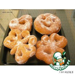 Рецепт Фигурные пончики