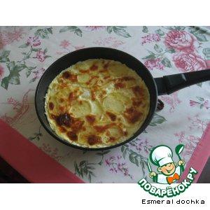 """Рецепт Картофельная запеканка """"Дофинэ"""""""