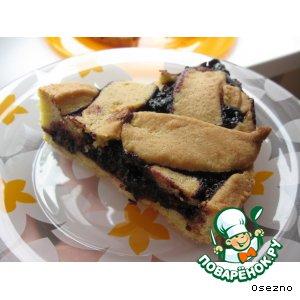 Рецепт Пирог с шелковицей