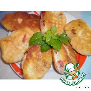 Рецепт Жареные пирожки с вишней