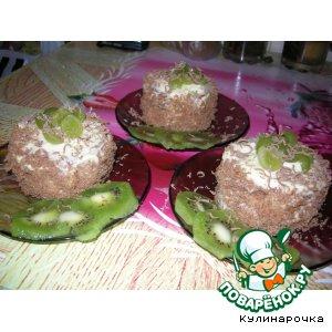 Домашний рецепт с фотографиями Пирожное