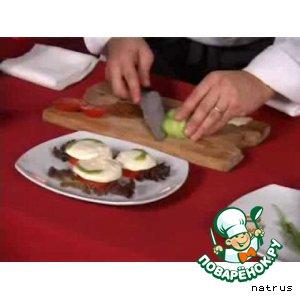 Рецепт Холодная закуска с моцареллой