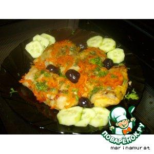 Рецепт Голубцы овощные