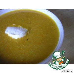 Рецепт Суп-пюре из моркови и нута