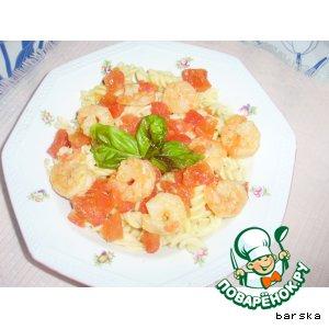 Рецепт Креветки в чесночном соусе