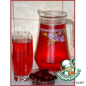 Рецепт Вишнево-мятный напиток