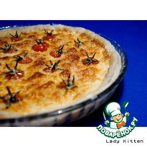 Рецепт Киш с помидорами черри