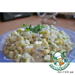 Рецепт Кабачковый салат