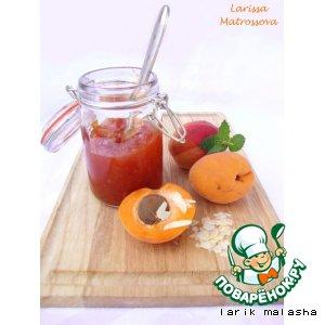 Рецепт Абрикосовое варенье с миндалем