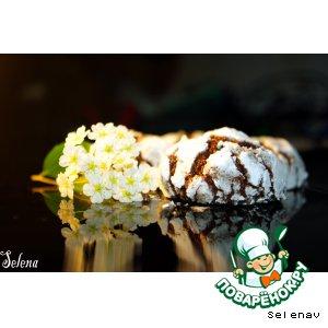 Рецепт Печенье «Бьянко е неро»