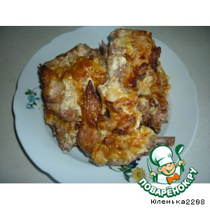 Рецепт Курица в овощном соку