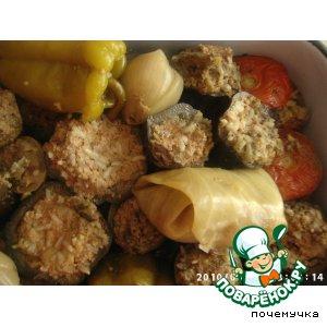 Рецепт Долма по-ишмиазински