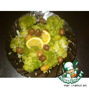 Рецепт Летняя закуска из брокколи