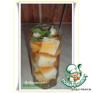 Рецепт Желе в зеленом чае