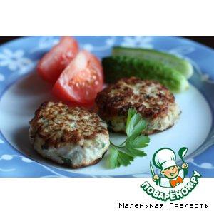 Котлетки куриные с кабачками простой рецепт приготовления с фотографиями пошагово