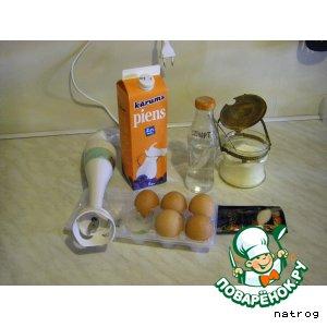 Рецепт Нежный яичный ликер