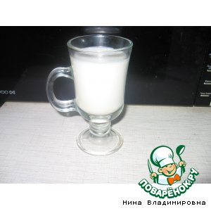 Рецепт Напиток из молока, похожий на кумыс