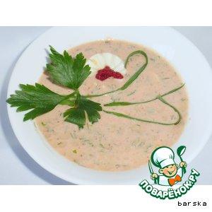 Рецепт Томатный холодный суп, или Гаспачо по-славянски