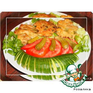 Рецепт: Рубленые куриные котлеты с индейкой