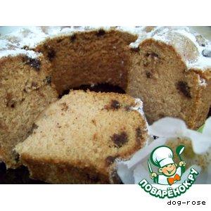 Рецепт Воздушный шоколадный пирог