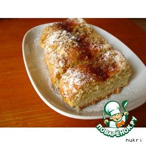 Рецепт Бисквиты с джемом и орехами