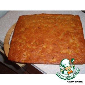 Рецепт Персиковый кекс