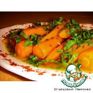 Рецепт Морковь по-мароккански «Кенитра»
