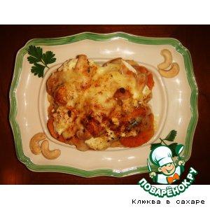 Рецепт Батат с тремя сырами «Эстиваль»