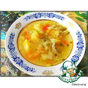 "Рецепт Суп на зиму ""Дачный"""