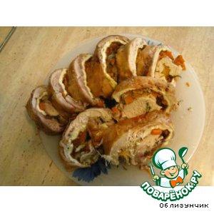 Рецепт Руляда из курицы