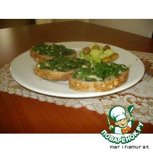 Рецепт Полезные бутерброды