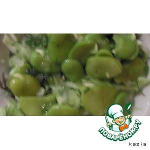 Рецепт Зелeный салат