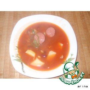 Рецепт Мексиканский суп