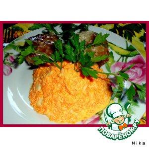 оранжевое чудо салат из моркови рецепт
