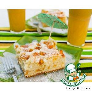 Пирог «Apricot Cheesecake Ripple»