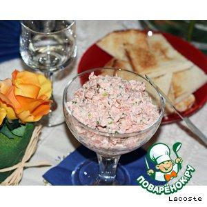 Рецепт Rillettes de saumon