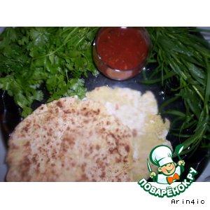 Рецепт Тортилья - мексиканская лепешка