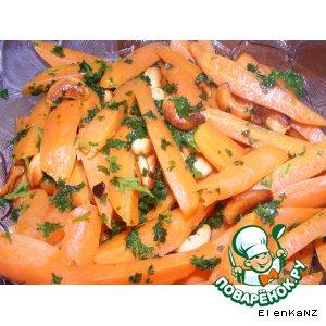 Рецепт Морковь в меду