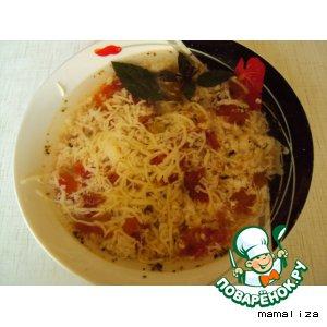 Рецепт Суп с помидорами и яйцами