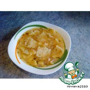 Рецепт Южный суп с галушками