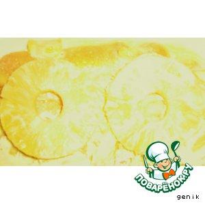 Рецепт Торт ананасовый без выпечки