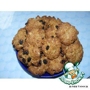 Рецепт Печенье из овсяных хлопьев