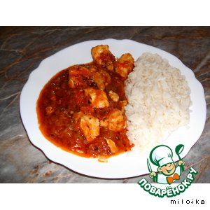 Рецепт Курица по-ирански