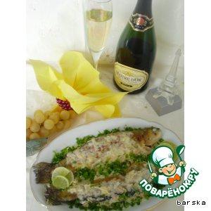 """Рецепт Форель в игристом вине """"Шампань"""""""