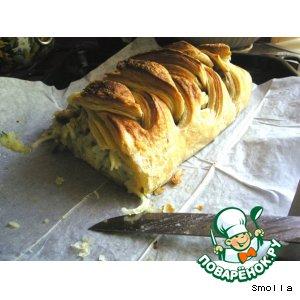 Рецепт Слоеный пирог с рыбой и картофелем