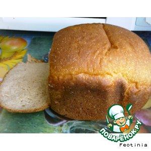 Рецепт Хлеб ржано-пшеничный на молочной сыворотке