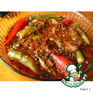 Рецепт Фаршированный перец чили