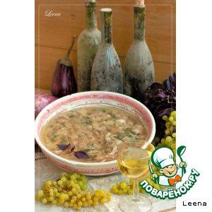 Рецепт Заливное из кролика, запеченного в винном маринаде