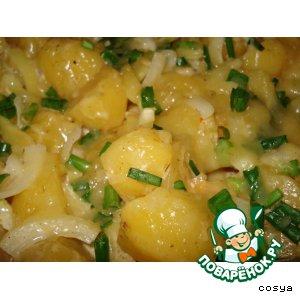 Картофель в заливке
