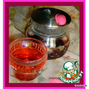 Рецепт Розовый чай